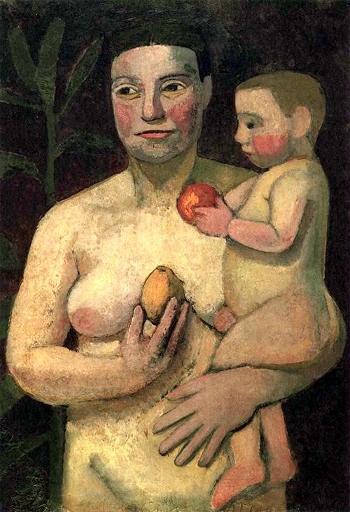 Modersohn-Becker - Mutter und Kind